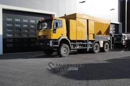 kolkenzuiger vrachtwagen Iveco Eurotech Iveco Eurotrakker 380 6x6 RSP ESE 26/10 S Saugbagger suction excavator 2002