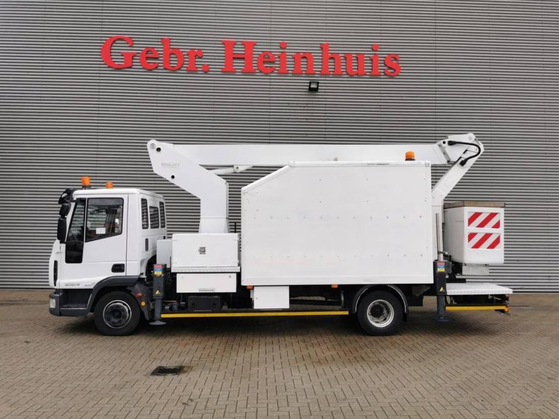 autohoogwerker vrachtwagen Iveco EuroCargo 120 EL18 4x2 Euro 5 Esda TG 1900 1000 Volt! 2008