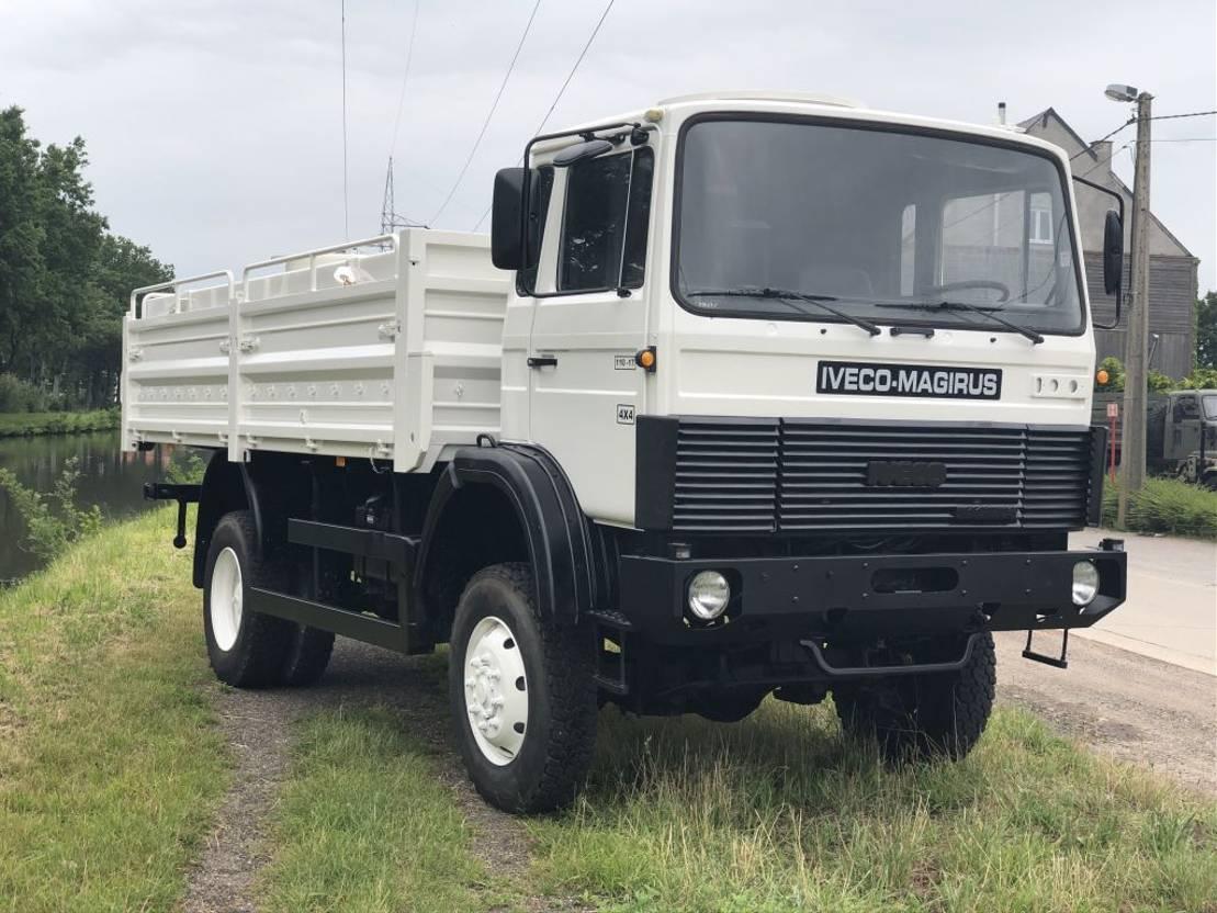 leger vrachtwagen Iveco Magirus