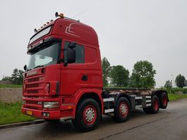 containersysteem vrachtwagen Scania 124 470 8x2 NCH Manual Retarder 2003