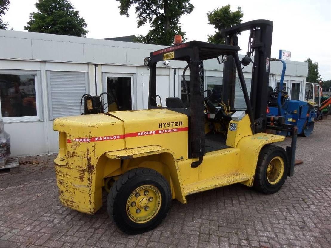 vorkheftruck Hyster H 6.00 XL 1992