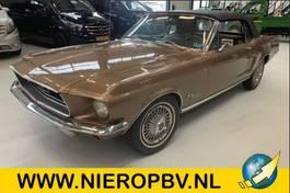 gesloten bestelwagen Ford Mustang Cabrio Automaat ( Nette Auto ) 1968
