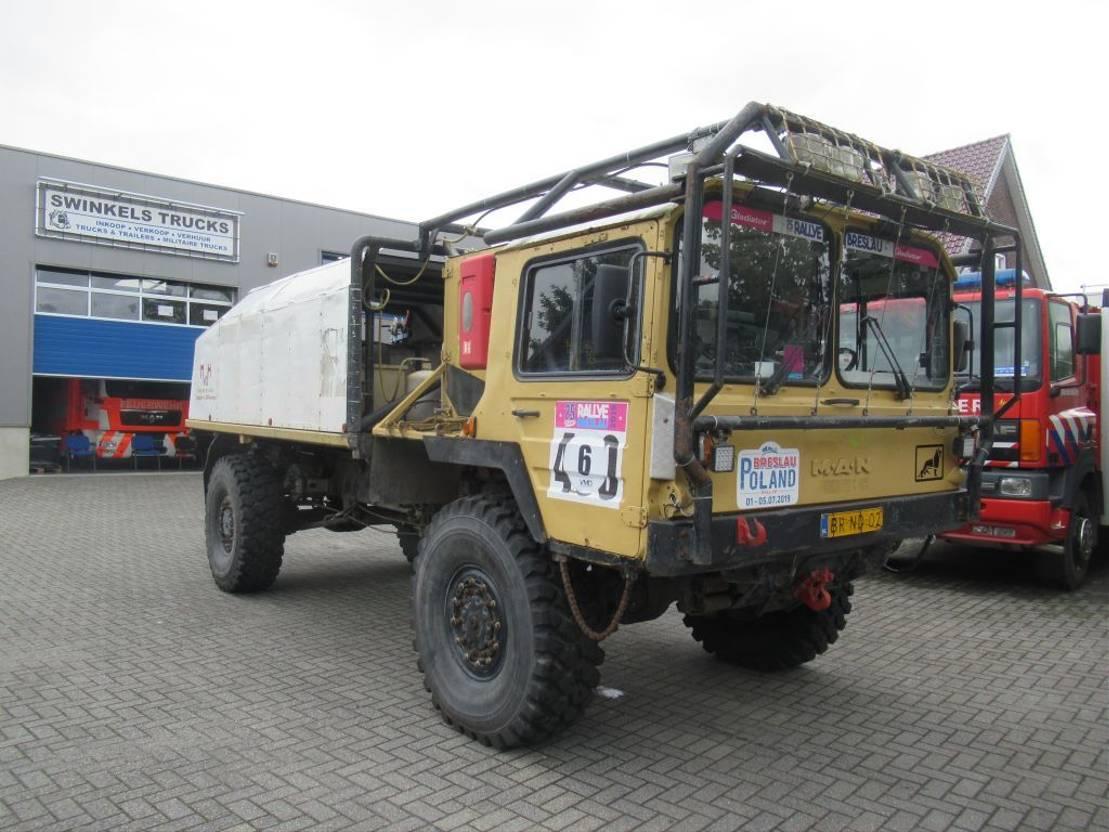 leger vrachtwagen MAN KAT 1  4x4  RALLEY TRUCK 1981