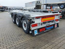 container chassis oplegger WEBTRAILER COS-27 Containerchassis