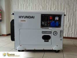 generator Hyundai Generator + 5,3 kW + 10 pk + 50 Hz + 230V/380V + silent 72dBA 2021