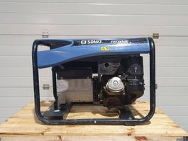 standaard aggregaat SDMO 5500T met Kohler benzine motor