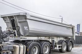 kipper oplegger Galtrailer HARDOX-24M3+PORTE HYDR. 2014