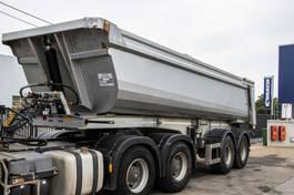 kipper oplegger Galtrailer HARDOX-24M3+PORTE HYDR. 2016