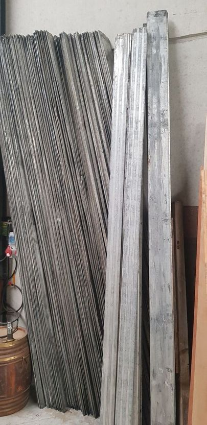 overig onderdeel Diversen aluminium huifplanken trailer