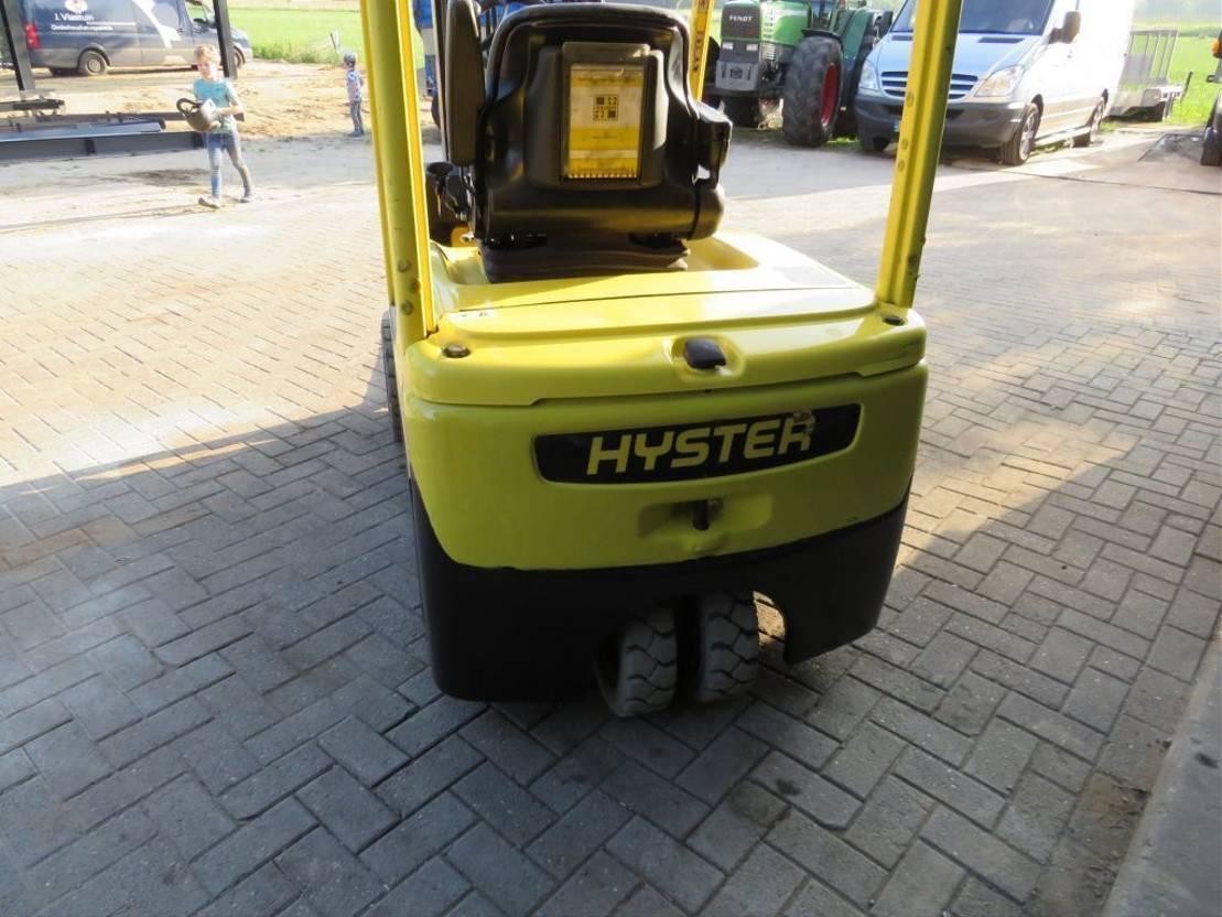 vorkheftruck Hyster 1.8 heftruck elektrische met sidesift zeer goed 2016