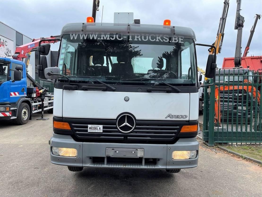autohoogwerker vrachtwagen Mercedes-Benz Atego 1218 + COMET 130 TA - 13m - HOOGWERKER / WORKING PLATFORM / NACELLE / HUBARBEITSBUHNE -  *ENGINE OVERHAULED* - BELGIAN TRUCK 2003