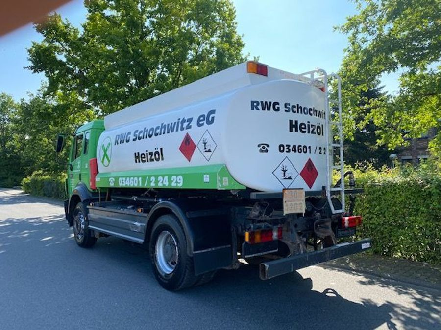 Mercedes-Benz - Tankwagen Willig D-Fahrzeug -1 Hand/ADR!! 4