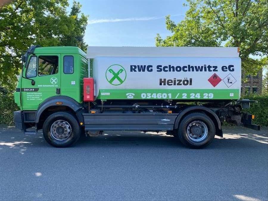 Mercedes-Benz - Tankwagen Willig D-Fahrzeug -1 Hand/ADR!! 6