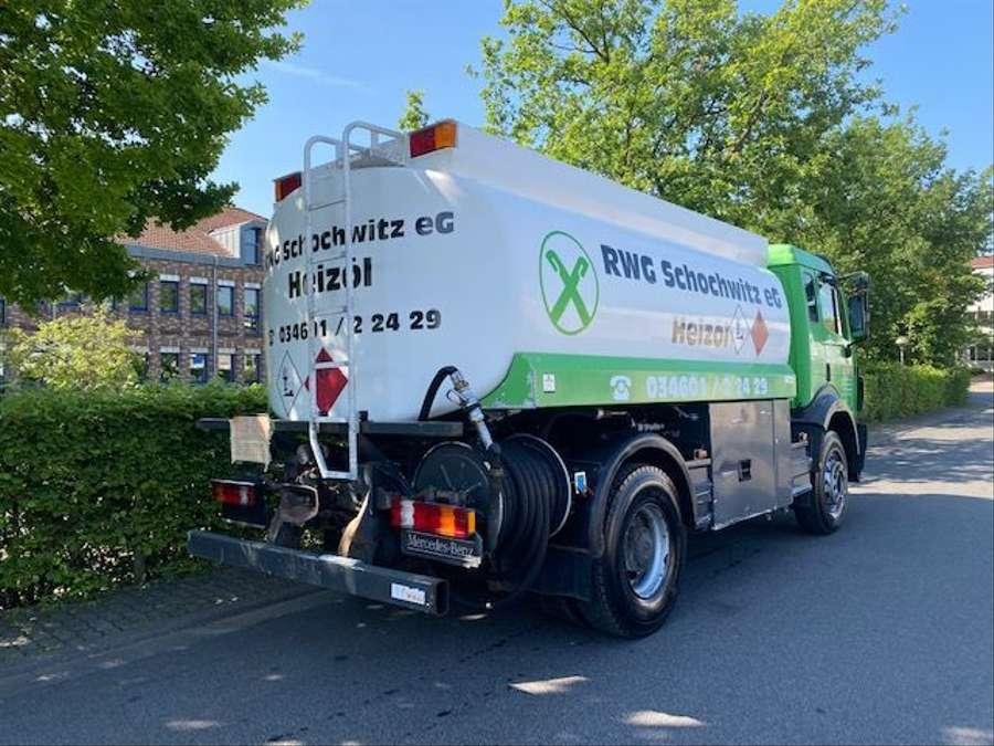 Mercedes-Benz - Tankwagen Willig D-Fahrzeug -1 Hand/ADR!! 3