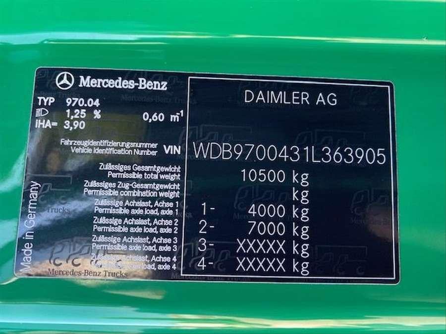 Mercedes-Benz - arbeitsbühne, 14mtr / Euro 5 20