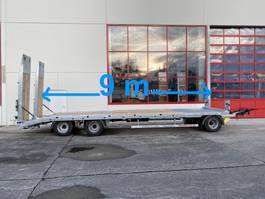 dieplader aanhanger Möslein T 3-9,20 F Blatt 3 Achs Tieflader mit gerader Ladefläche 9 m, Neufahrzeug 2021