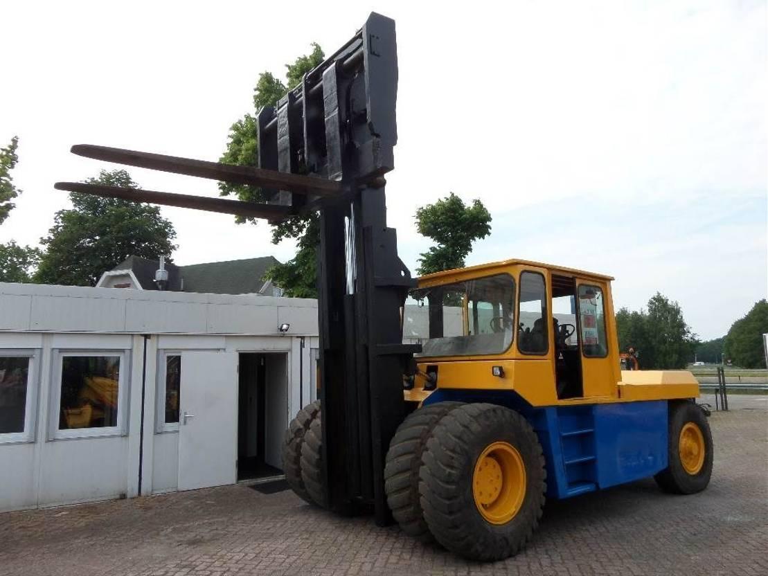 vorkheftruck Jungheinrich BOSS 25 TR-roro 1989