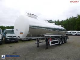 tankoplegger BSL T Chemical tank inox 30 m3 / 1 comp 1996