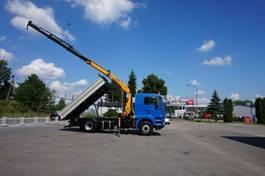 kipper vrachtwagen MAN TGA 18 4x4H Palfinger PK 12000 Kipper 2007