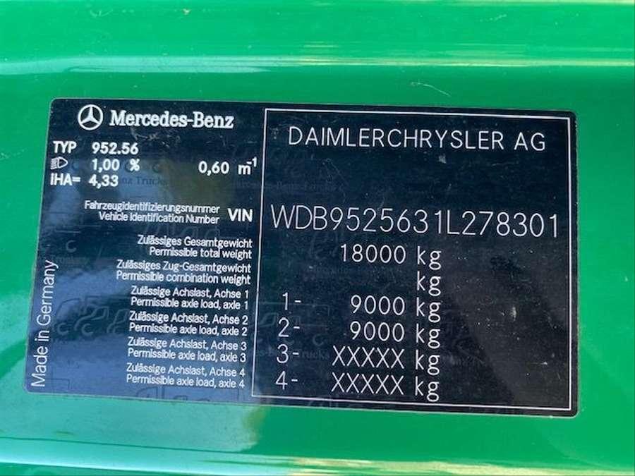 Mercedes-Benz - 4X4  VERSALIFT - VT-51-NF /17mtr/Euro 5 23