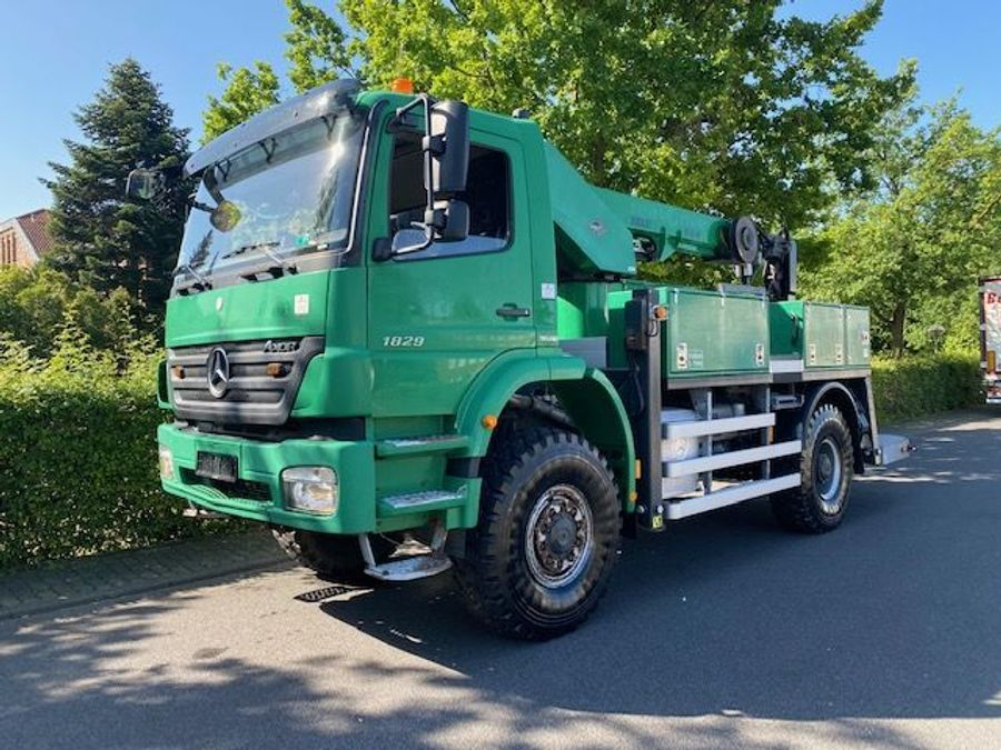 Mercedes-Benz - 4X4  VERSALIFT - VT-51-NF /17mtr/Euro 5 5