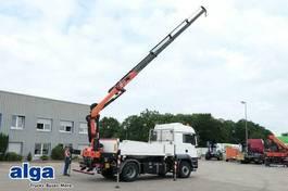 kipper vrachtwagen MAN TGS 18 BLH 4x4, Kran Palfinger PK18502, Funk 2014