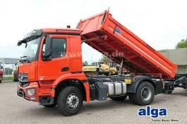kipper vrachtwagen Mercedes-Benz 1835 K 4x2, Euro 6, Meiller, Unfall, Klima 2020