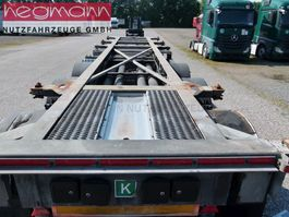 container chassis oplegger WEBTRAILER LPRS 24, Tankcontainerchassis 2015