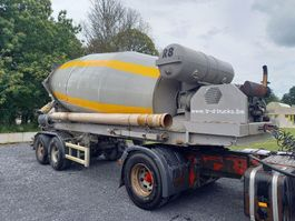 betonmixer oplegger Liebherr SF36BM 2 axles bpw