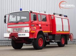 tankwagen vrachtwagen Renault M 210 4x4 - SIDES 40 BCA3 - feuerwehr - fire brigade - brandweer - 4.000... 1997