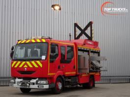 brandweerwagen vrachtwagen Renault Midlum 220 DCI Calamiteiten truck, Rescue-Vehicle - Electricity aggregate, Elektriz... 2005