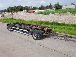 container chassis aanhanger Van Hool Container Aanhangwagen 7 meter Apk 2022 1993