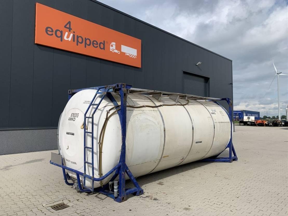 tankcontainer Diversen 20FT, swapbody TC 30.963L, UN PORTABLE, T7, valid 2,5y inspection: 05-2022 2002