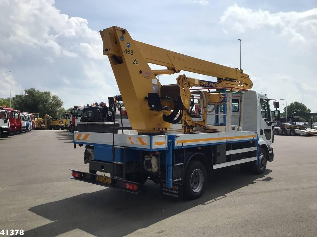 autohoogwerker vrachtwagen Renault Midlum 220 -12 25 meter hoogwerker Just 27.077 km! 2007