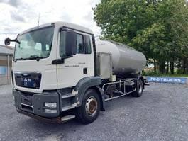 tankwagen vrachtwagen MAN TGS 18 - citerne en inox isotherme-2 compartiments