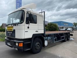 open laadbak vrachtwagen MAN 26.372 6x2 MANUAL ZF STEEL SPRING PERFECT 1992