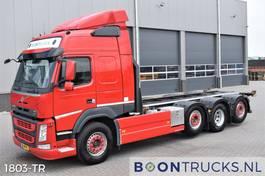 containersysteem vrachtwagen Volvo FM 500 8x2 | EURO6 * 20ft TIPPING * RETARDER * 2 x STEERING 2014