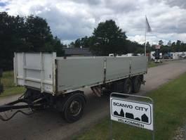 open laadbak aanhanger Kel-Berg 3-axle 7,75m open trailer with 1.000mm alu-sides 2016