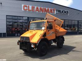 kipper vrachtwagen > 7.5 t Unimog U 90 4x4 3-zijdige kipper 2001