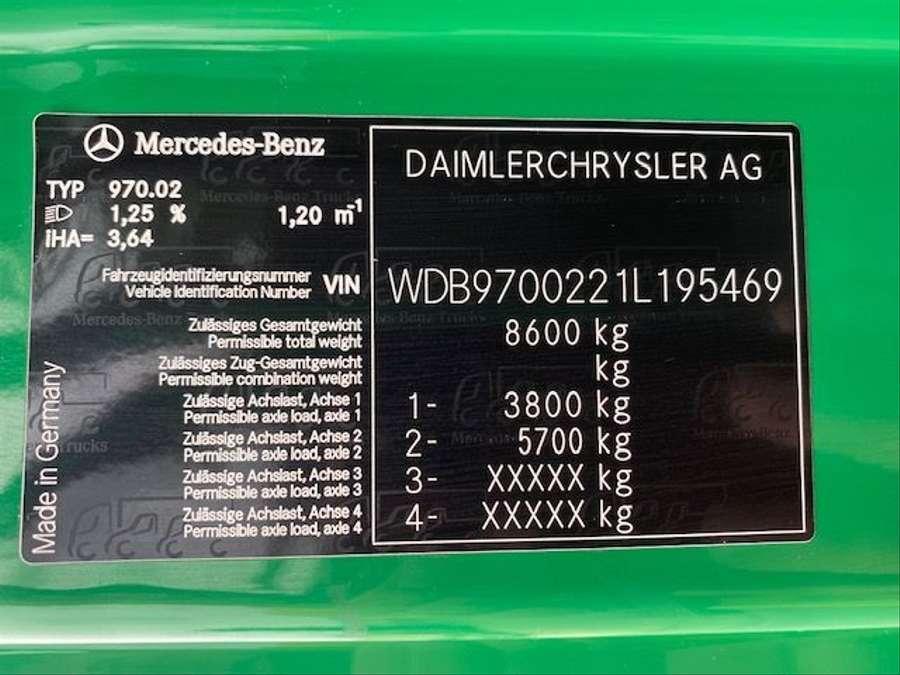 Mercedes-Benz - arbeitsbühne, 12mtr / Euro 4 23