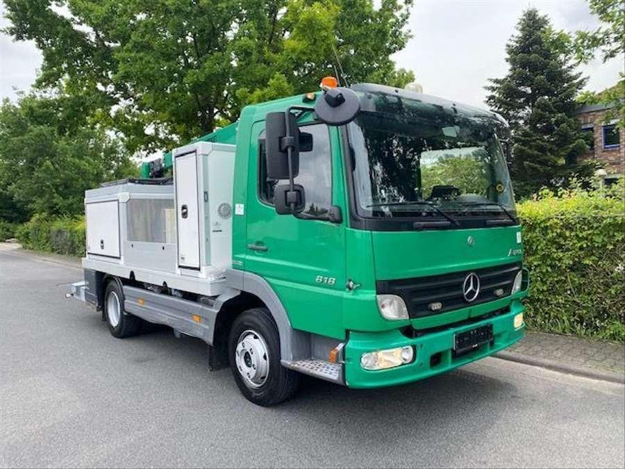 Mercedes-Benz - arbeitsbühne, 12mtr / Euro 4 6