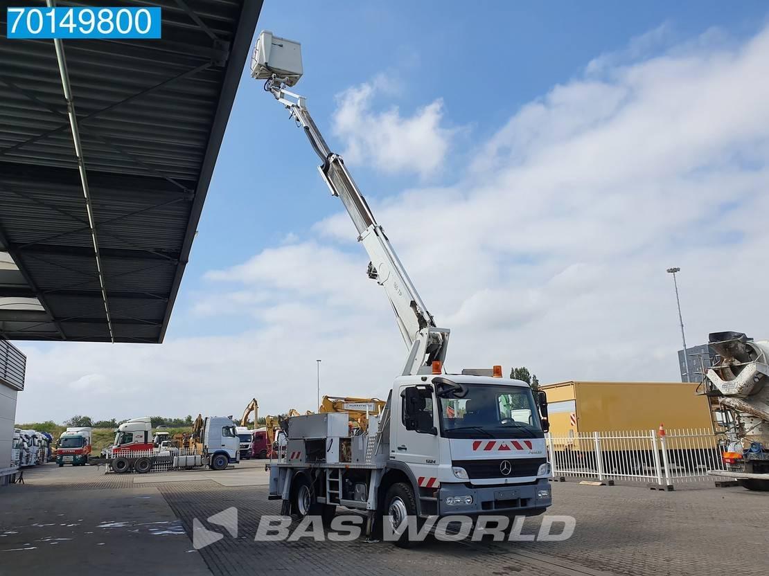 autohoogwerker vrachtwagen Mercedes-Benz Atego 1224 4X2 18 Meters Manual Steelsuspension Euro 4 2008