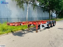 container chassis oplegger Dennison Container 20 / 30 FT Container system 2001
