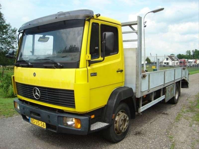 Mercedes-Benz - 1114 oprijauto/lier/oprijplaten ecoliner 1