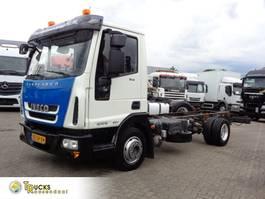 chassis cabine vrachtwagen Iveco EuroCargo 80 80E18 + PTO + Euro 5 + blad-blad 2011