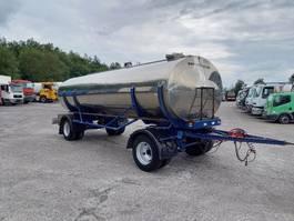 tank aanhanger MAISONNEUVE -2 axles -spring suspension - 14000L