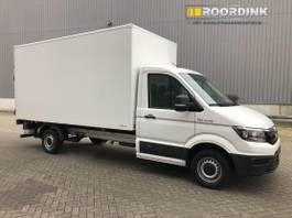 gesloten bestelwagen MAN Laadbak en laadklep automaat 2019