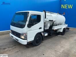 kolkenzuiger vrachtwagen Mitsubishi Fuso, Manual, Steel Suspension