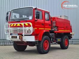 brandweerwagen vrachtwagen Renault Midliner 210 M210 4x4 -Feuerwehr, Fire brigade - 2.000 ltr watertank - Expeditie, Cam... 1998