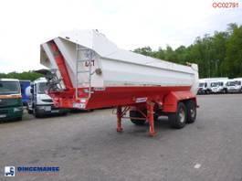 kipper oplegger Kaiser Tipper trailer steel 24 m3 2007